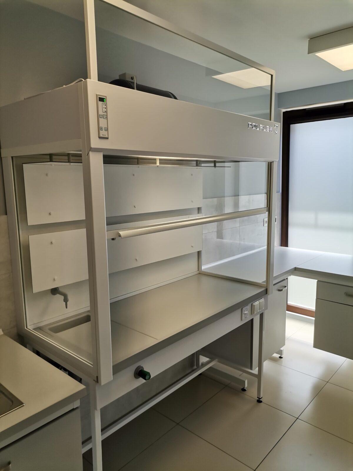 Dygestorium laboratoryjne Aluminiowe