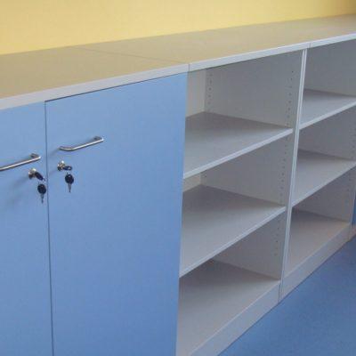 POLFLEX meble laboratoryjne szafki przyścienne